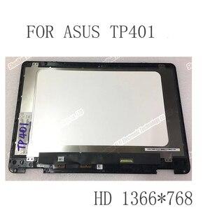 14-дюймовый ЖК-светодиодный экран в сборе для ASUS Vivobook Flip 14 TP401 TP401M TP401N, ЖК-дисплей с сенсорным цифровым преобразователем в сборе