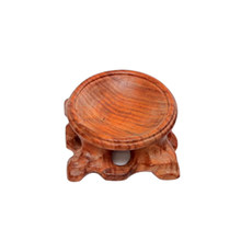 Carved DIY Wooden Eco Friendly Crystal Ball Stand Wear Resistant Home Decorative Office Gemstone Egg Craftsman Ornaments Display(China)