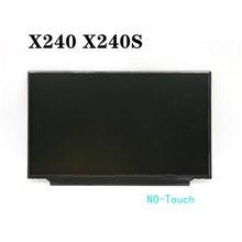 """""""For Lenovo Thinkpad X240 X240S NO-Touch  30pin 12.5""""""""30pin 1336*768 HB125WX1-200 LP125WH2 M125NWN1 FRU 04X1765 04X0325 04X0433"""""""
