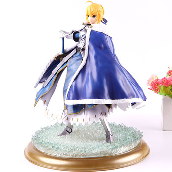 Fate Grand Order Saber Altria Pendragon 1/7 Scale Painted Figure Deluxe Saber Action Figure PVC Collectible Model Toy With Light