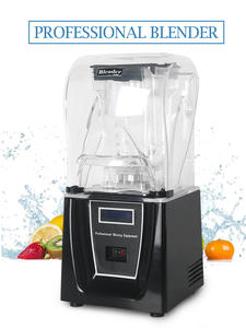 ITOP Commercial Blender Food-Mixers Smoothie-Maker Juicer 5-Functions 1 with Black/white
