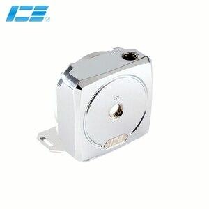 Image 1 - IceMan soğutucu D5 pompası tamir kapak saf bakır pompa modifiye aksesuar parlak gümüş