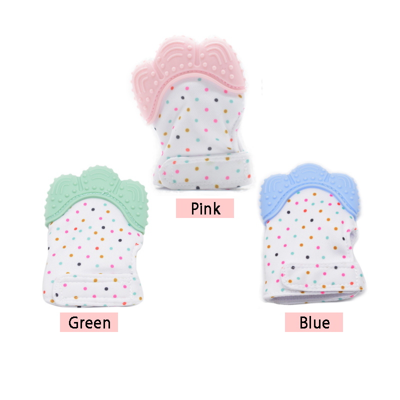 Molar Gloves Baby Teether Gloves Safe Quality Teether
