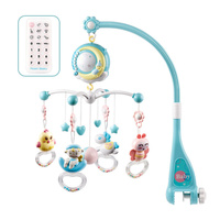 2019 New Musical Bed Bell Baby Toy with Controller Music Night Light Toy Home Bedroom