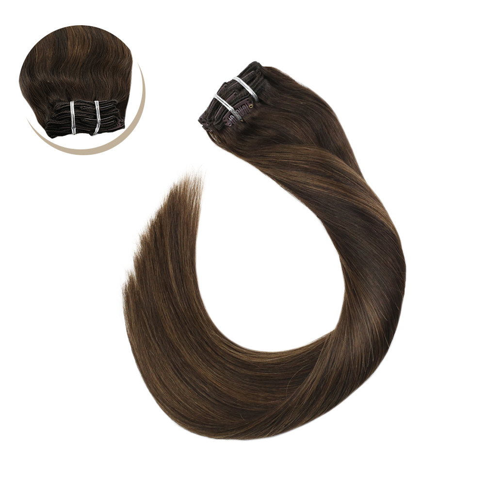 Ugeat Clip In Hair Extensions 14-24