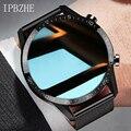 Смарт-часы Ipbzhe мужские с поддержкой Bluetooth, для IOS, Iphone, Huawei, Xiaomi