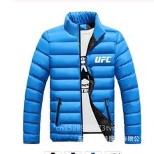 Мужская зимняя куртка со стоячим воротником и сэндвич UFC Мужская толстовка мужская зимняя куртка на молнии с стоячим воротником ti