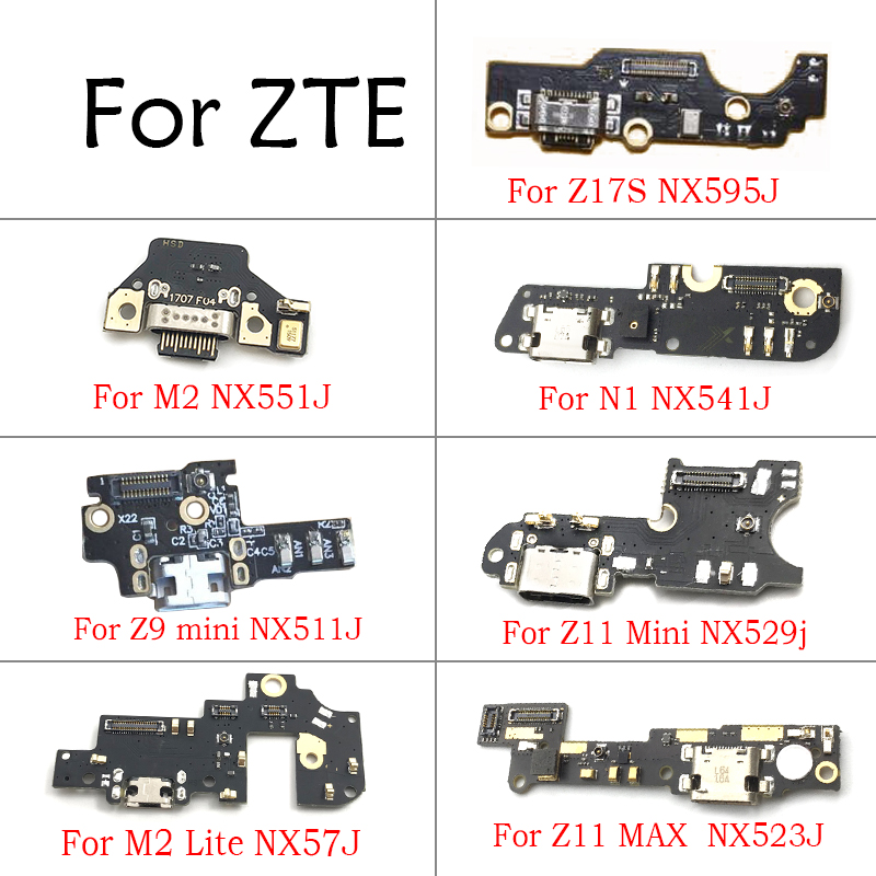 USB Charger Charging Dock Port Connector For ZTE Nubia Z11 Z17S Z11 Max N1 M2 Lite Z9 Z11 Z17 Mini S NX549j NX511J NX529j NX569J