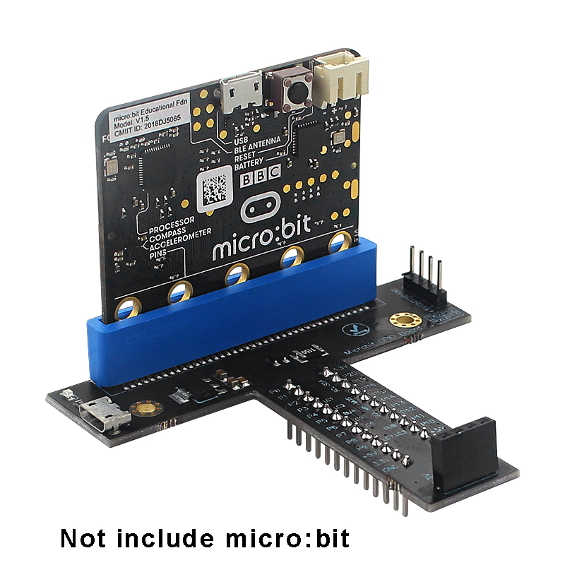 Micro:bit GPIO Board T Type Expansion Board With 3.3V And 5V Output For Micro:bit Programming