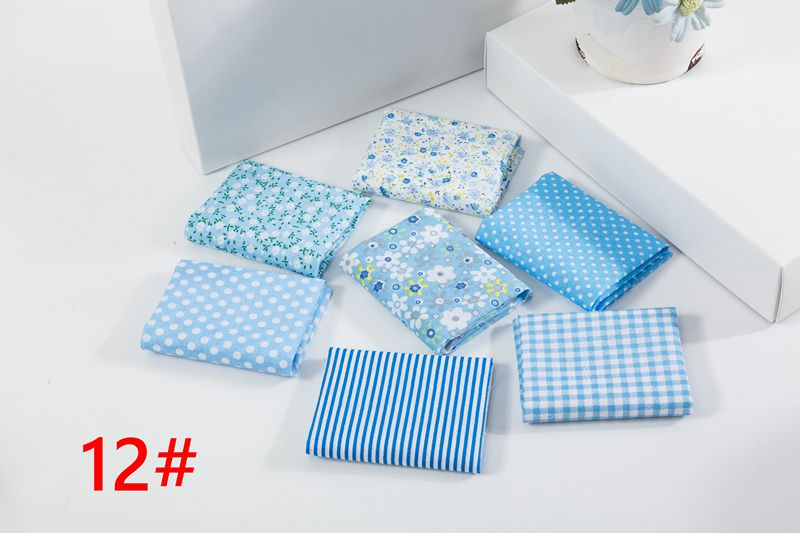 Ha0bade0153584ae4a6bbf78d6319bfdbE 25x25cm and 10x10cm Cotton Fabric Printed Cloth Sewing Quilting Fabrics for Patchwork Needlework DIY Handmade Accessories T7866