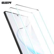 Esr 2 Stuks Screen Protector Voor Samsung Galaxy Note 10 Gehard Glas Volledige Cover Beschermfolie Voor Samsung Note 10 plus 5G Glas