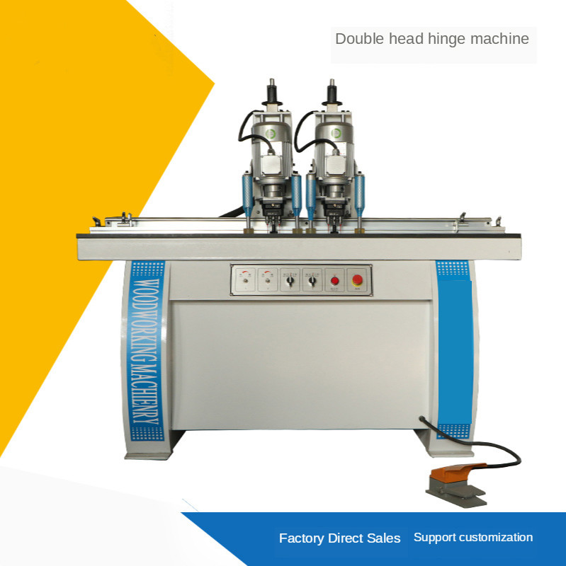 Horizontal Double Head Hinge Drill Machine Woodworking Boring/drilling Machines For Sale Boring Machine For Furniture