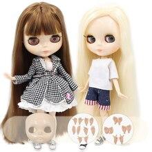 Кукла ICY Blyth No.3 блестящая белая кожа для лица 1/6 BJD Специальная цена 1/4 BJD,Pullip,Jerryberry,Licca игрушка в подарок