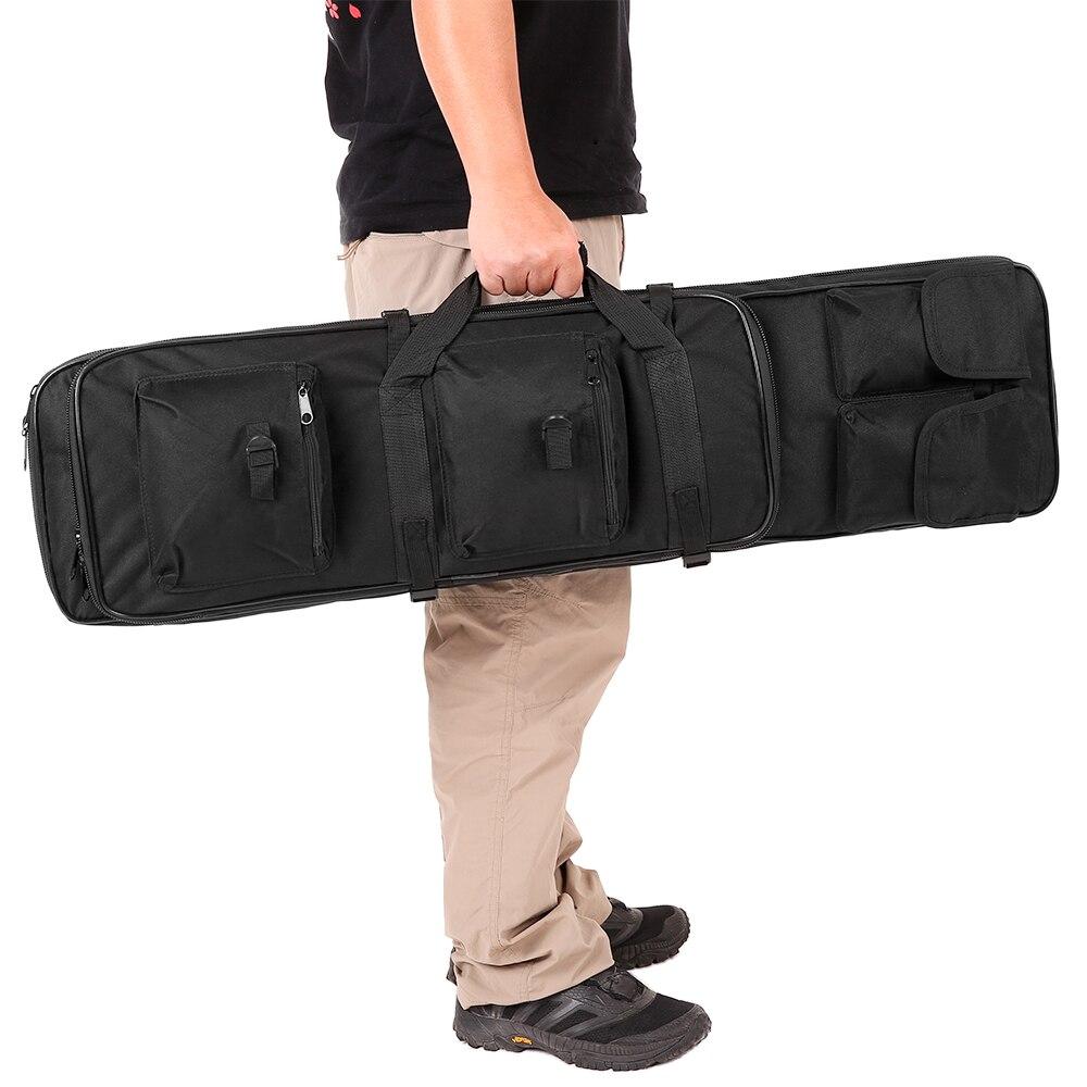 Lixada Tactical Gun Bag Outdoor Military Hunting Bag Padded Barrel Carrying Gun Bag Case With Shoulder Sling Strap