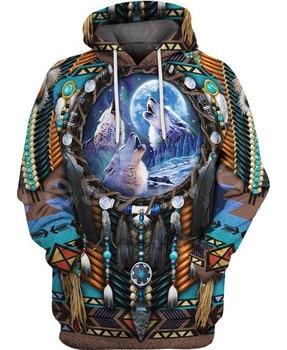Tessffel Indian Native culture Harajuku Casual Colorful Tracksuit New Fashion 3DPrint Unisex Hoodie/Hoodies/Jacket Men Women s-2 2