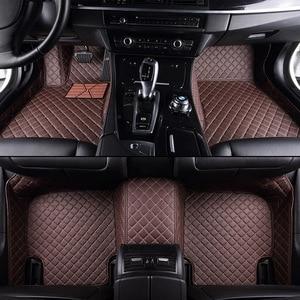 Image 2 - kalaisike Custom car floor mats for Nissan All Models qashqai x trail tiida Note Murano March Teana car styling car accessories