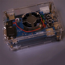 Caja de cubierta acrílica transparente para MiSTer FPGA Hardware Solution, accesorios para consola de juegos