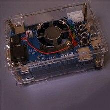 שקוף אקריליק Shell שיכון מקרה עבור מיסטר FPGA חומרה פתרון משחק קונסולת אבזרים
