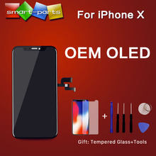 High Quality OEM OLED For iPhone X XS XR XS MAX LCD Display Touch Screen Replacement with 3D Touch Digeiter Assembly(China)