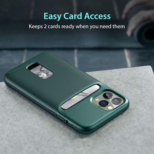 Image 2 - ESR kılıfı iPhone 11 Pro Max kart yuvası kılıf cüzdan marka iş koruyucu arka kapak iPhone 11 pro max lüks Funda