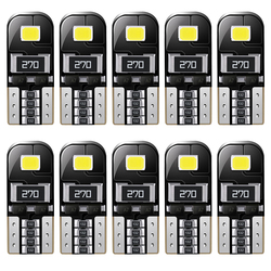 10X T10 Led W5W Canbus Bulbs Car Reading Light Interior Dome Lights For Toyota Fortuner Hilux 2007 2008 2012 2014 2015 2016 2017