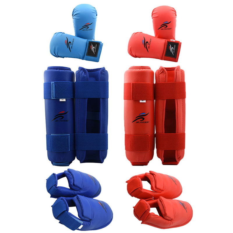 MMA Shin Protector Cloth Pad Leg Guard Sparring Gear Karate New Taekwondo