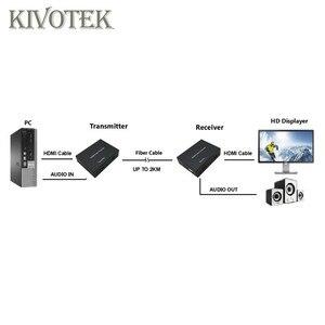Image 5 - 1080p HDMI Extender Transceiver Adapter Split Verlängerung HD Video Sender/Empfänger 2km durch Faser Kabel, SFP Stecker Kostenloser Versand