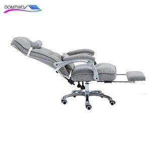 Image 5 - Cadeira de computador cadeira de escritório em casa cadeira de massagem giratória reclinável