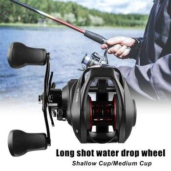 BF2000 Baitcasting Fish Rod High Speed 7.2:1 Gear Ratio 12+1BB Fresh/Saltwater Magnetic Brake System Ultralight Fishing Rod Reel