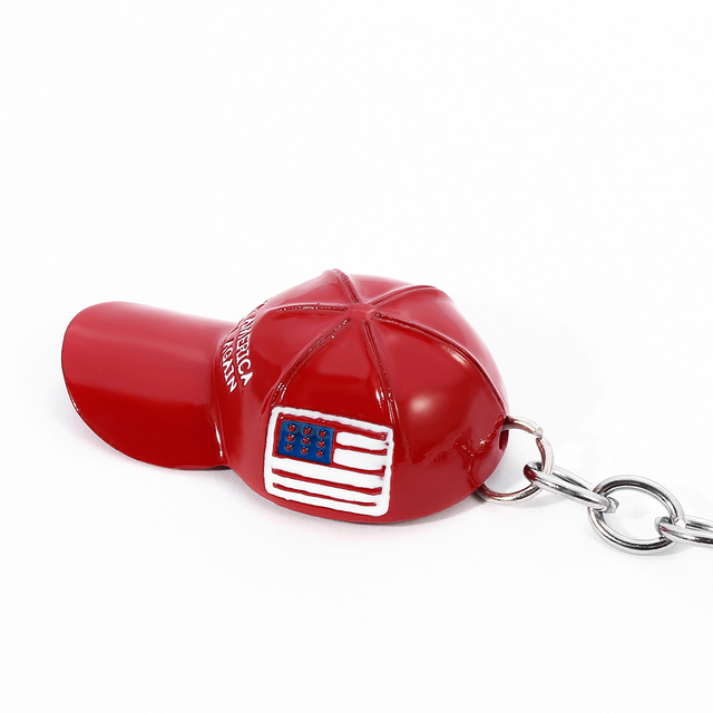 Trump Red Hat Pendant Keychain (Make America Great Again) - Metal Key Chain 6