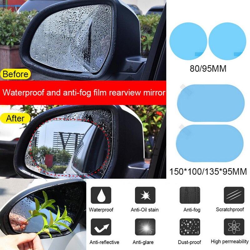 Kaca Spion Mobil Film Pelindung Yg Tahan Hujan Kaca Spion Mobil Decal Set 2