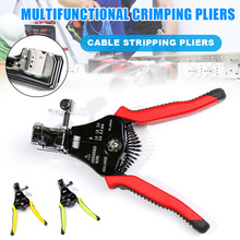Wire Stripping Pliers Multi-function Crimping Tools Cable Stripping Pliers Precise Manual Hardware Tools J8