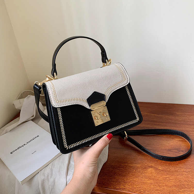 Young Elegant Brand Handbag Women Bags Designer Vintage Small Leather Crossbody Bags Womens Sac A Main