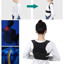 Adjustable Posture Correct Braces Supports Back Belt Support Corset Back Lumbar Shoulder Correcting can CSV children learning chair which can correct posture and lift freely