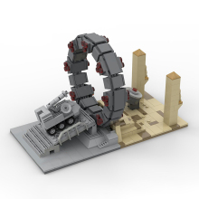 MOC-27131 Space Stargate Command Model Star Interstellar travel Toys Set Toys Kids Gifts Building Blocks toys