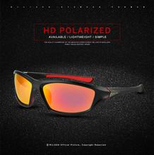 Nowe luksusowe spolaryzowane okulary męskie Vintage okulary do jazdy Anti-UV okulary sportowe rower okulary kolarstwo na świeżym powietrzu okulary tanie tanio CN (pochodzenie) Sunglasses Ochrona przed promieniowaniem UV
