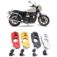Universal CNC Aluminium Motorrad Grip Lock Sicherheit Sicherheit Schlösser Anti diebstahl Lenker Lock Roller ATV Dirt Straße Bikes Auto