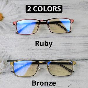 Image 4 - VANLOOK Progressive Multifocal Reading Glasses Computer For Men Women Sight Clear Adjustable Eyeglasses Red +1.0 1.5 2 2.5 3 3.5
