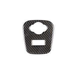 Pour Mini Cooper JCW F55 F56 accessoires voiture intérieur en Fiber de carbone allume-cigare USB AUX panneau Console autocollant de couverture