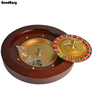Image 4 - Casino Wooden Roulette Poker Chips Set Roulette High Quality Casino Wooden Roulette Wheel Bingo Game Entertainment Party Game