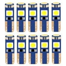 10 шт. T5 58 74 286 W1.2W супер яркий 3030 светодиодный клин приборной панели манометр лампы Предупреждение ющий индикатор инструмент индикаторы клас...