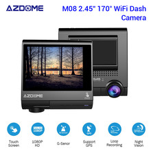 "Buy AZDOME M05 Car DVR GPS Dash Cam 3.0"" OLED Screen FHD 1080P Car Video Recorder Dash Camera G-Sensor Night Vision Car DVRs Dashcam directly from merchant!"