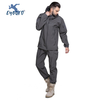 New Fishing Clothes Sports Outdoor Fishing Clothing Quick drying Pants Men's Fishing Suit Wind and Waterproof Fishing Jacket Set