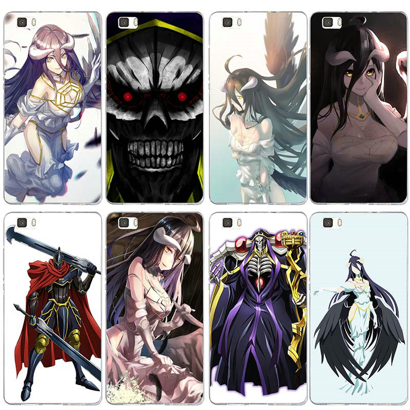 Soft TPU Silicon Phone Case for Huawei P8 P9 P10 P20 P30 <font><b>Honor</b></font> 6X <font><b>7X</b></font> 7 9 Mate 10 Pro Lite Coque Shell Anime <font><b>Sexy</b></font> <font><b>Girl</b></font> Overlords image