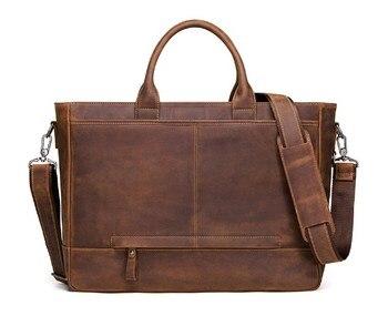 Crazy horse, коровья кожа, большая емкость, мужская сумка для ноутбука, офисный бизнес портфель, сумки