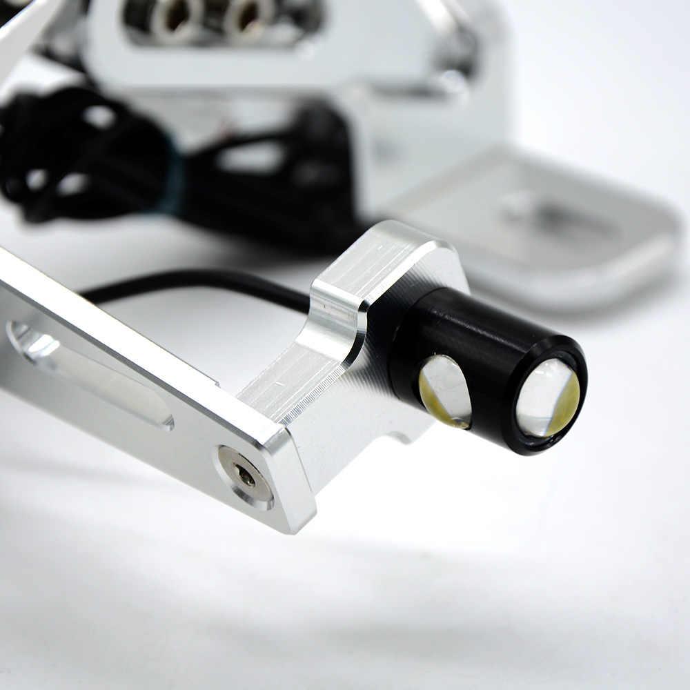 עבור סוזוקי BURGMAN 650 400 125 200 AN650 AN400 AN125 פנדר Eliminator רישום צלחת סוגר בעל לוחית רישוי אור