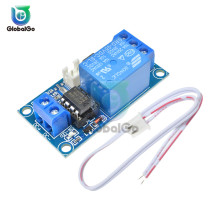 цена на 5V 1 way Relay Module with Switch 1 Channel DC 5V 12V Latching Relay Module with Touch Bistable Switch Control