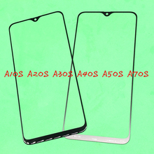 10Pcs Replacement LCD Front Touch Screen Glass Outer Lens For Samsung Galaxy A10S A20S A30S A40S A50S A70S