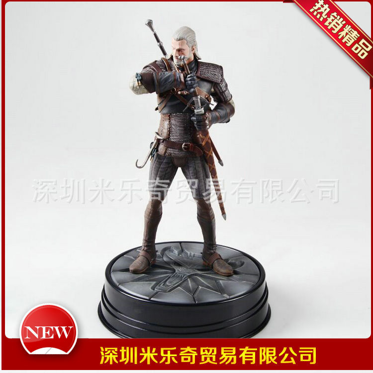 Anime Toy Dark Horse Wizard 3 The Witcher 3 Crazy Hunting Geralt Garage Kit
