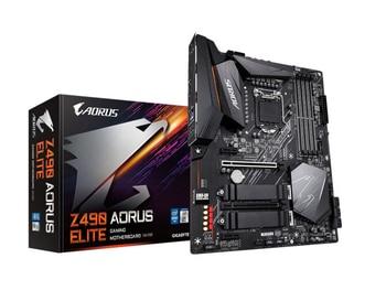 Z490 AORUS ELITE motherboard + I7-10700K CPU motherboard + CPU set